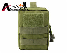 Outdoor 1000D Waist Bag Tactical Molle Pouch Military Hunting Equipment Camping Waterproof Gear Tool Mobile Phone Flashlight Bag