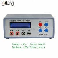 EBC-A01 Multifunzione Elettronico Tester di Carico 0-30 V 1A CR Pulsante/Piccola Batteria Al Litio di Capacità e AAA Aneroide Test della batteria