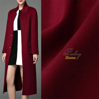 PanlongHome Thickened Double Side Plush Fabric Cashmere Imitation Wool Fabric Clothing Windbreaker Coat Suit Fabric