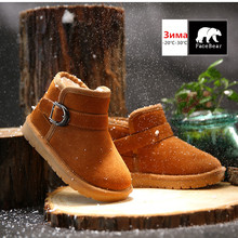 Brand winter baby shoes for girls snow wear warm winter shoes for boys Waterproof children's shoes 3 colors boots Christmas gift