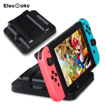 Charging Dock For Nintendo Switch Console Dual Charging Station Holder Gamepad Game Controller Charge Stand Games Accessories