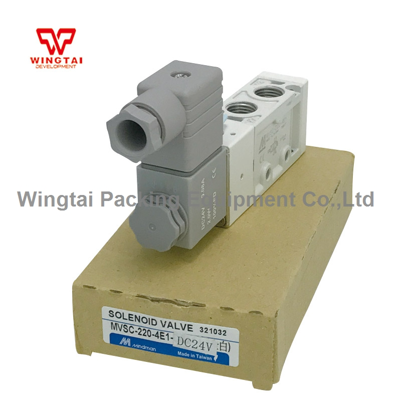 Mindman Solenoid Valve DC24V MVSC-220-4E1, 4-way, Single Solenoid, Specify Voltage стоимость
