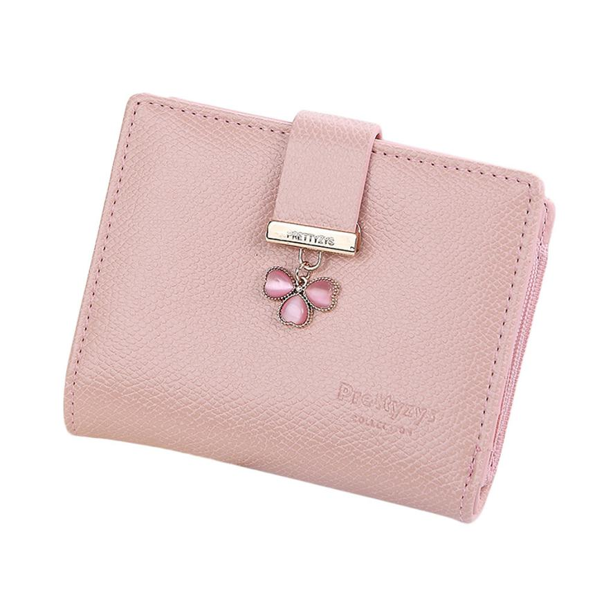 new 2017 women wallets famous brands lucky clover leather women cash purse wallet female small coin purse pockets clutch money candy leather clutch bag women long wallets famous brands ladies coin purse wallet female card phone holders carteira feminina