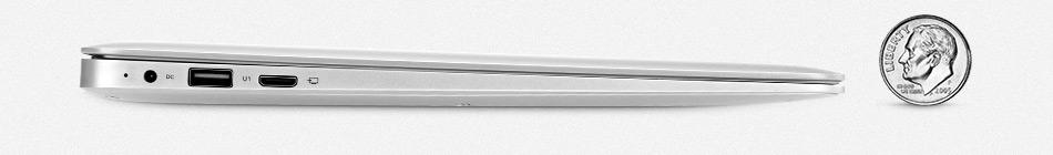 Jumper EZbook 2 A14 Laptop 14.1 Inch Windows 10 Ultrabook 1920 x 1080 FHD Display Intel Cherry Trail Quad Core Z8300 4GB RAM 64GB eMMC ROM Bluetooth Ultraslim Notebook Computer (3)