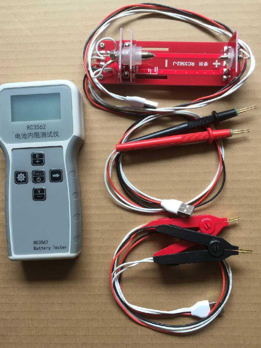 RC3562 batería de alta precisión resistencia interna probador de batería de plomo níquel cromo