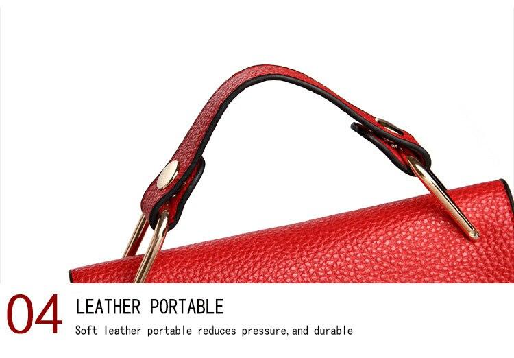 Brand Designer Chain Piggy Bags Fashion Grained Women Handbags Artificial Leather Ladies Shoulder Bags Elegant Party Lock Totes (27)