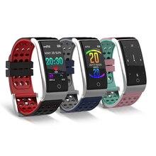 Smart Браслет Фитнес трекер Смарт-браслет монитор сердечного ритма ЭКГ/PPG крови Давление Смарт часы для IOS Android телефон