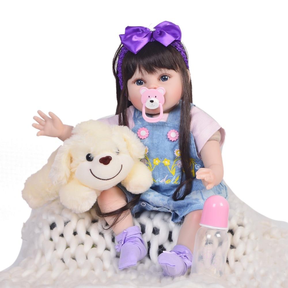 KEIUMI ขายร้อน 22 นิ้วตุ๊กตาเด็กทารก Reborn ตุ๊กตา 55 ซม.ผ้า Alive เหมือนจริงทารกแรกเกิดตุ๊กตาเด็กวัยหัดเดิน Xmas วันเกิดของขวัญ-ใน ตุ๊กตา จาก ของเล่นและงานอดิเรก บน   2