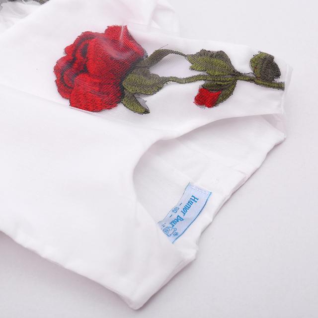 Girls' Cute Sleeveless Floral Cotton Dress