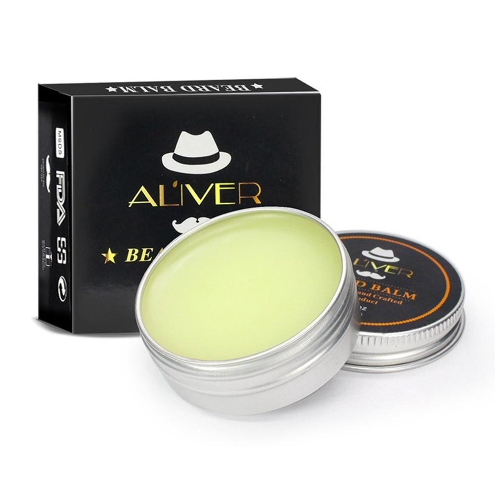 30g Men Beard Balm Cream Moustache Wax For Styling Beeswax Moisturizing Smoothing Nourishing Gentlemen Beard Care 1