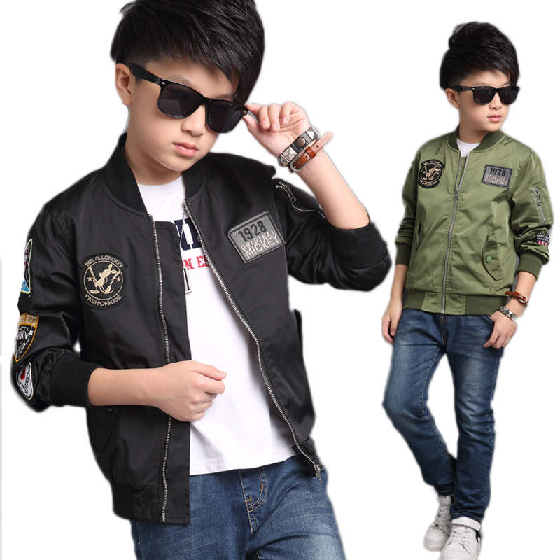 Children Jacket For Boys Coat Kids Clothes Fashion Children's Winter Jackets Boy Clothing Casual Outerwear Spring Autumn 2018 boys lamb wool jacket coats winter boy coat children fashion outerwear kids clothes boutique clothing