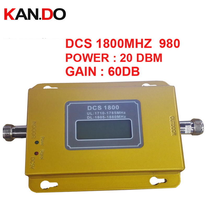 New DCS 1800mhz Booster 980 20dbm Power LCD Display Phone Repeater Dcs Amplifier Booster,dcs 1800mhz Signal Enlarger