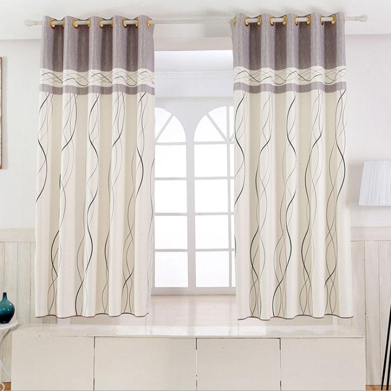 1 pannello tende brevi decorazione della finestra della cucina moderna tende a strisce modello bambini tende