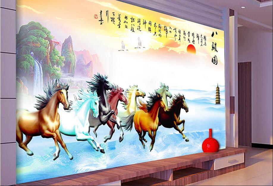 Custom Photo 3d Wallpaper Non Woven Mural Picture 3 D The Eight
