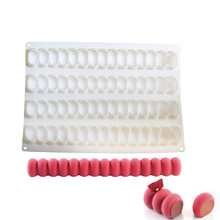 1PCS Silicone Infinity Shape Cake Molds Roll Dessert Pan Bakeware Pastry Modular Flex Baking Mold Tools