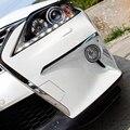 2 шт. ABS chrome передние противотуманные фары крышка украшения накладка для LEXUS RX350 RX450 F Sport 2013 2014 2015 года