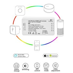 Image 2 - ZIGBEE Smart LED Controller Amazon Echo Tradfri Compatible LED Controller RGB CCT WW CW Zigbee Controller LED Dimmer