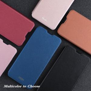 Image 5 - MOFi funda con tapa para Huawei Honor 10, Funda de cuero suave PU para Honor, funda de libro de silicona TPU