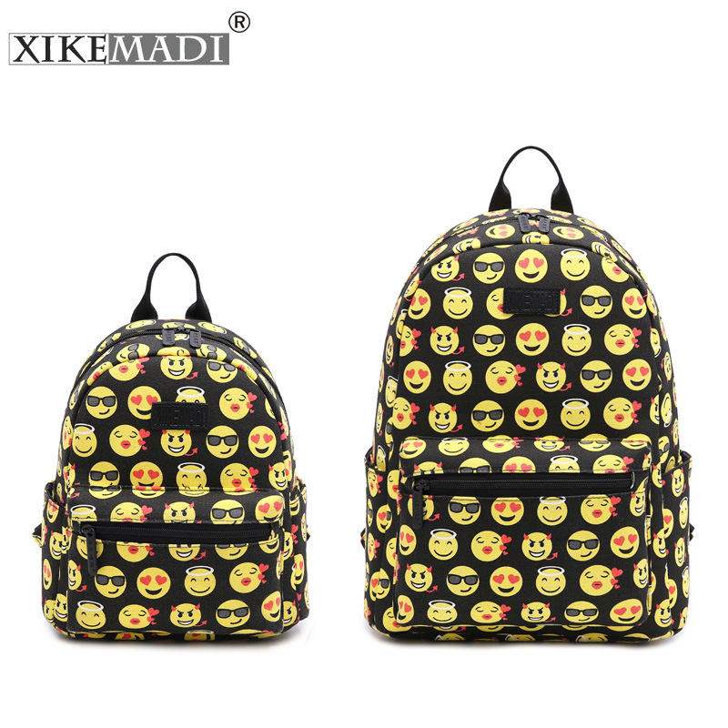 2017 Fashion Canvas Backpacks Schoolbag for Teenage Girls Women Causal Travel Backpacks Women s 3D Printing