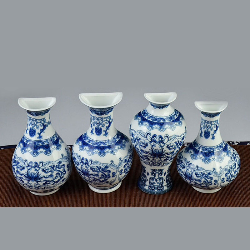 YEFINE Vintage Home Decor Keramične vaze za cvetje za domove - Dekor za dom - Fotografija 4