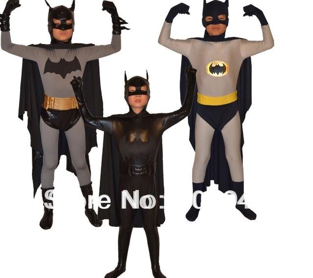Free Shipping Cheap Wholesale 3 Color Kids Lycra Spandex Batman ...
