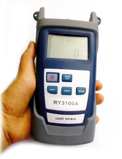 RY3100 1310 1550nm Optico Fuente de luz Handheld Optical Laser Light Source Fiber Optic Tool