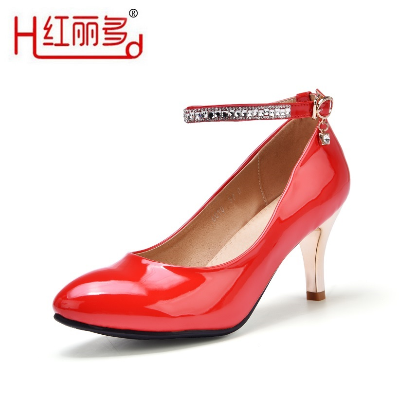 women red small big size pointed