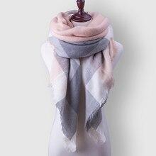 Пледом za платки кашемир шарфы люксовый шерсть зимний долго wrap шарф