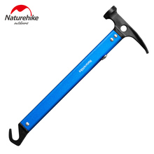 Brand 2017 new Ultra-light Aluminum Multifunction Camping Tent Peg Nail Hammer Outdoor Camping Hiking Tent Accessories Mallet