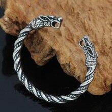 Скандинавский Викинг Norse Дракон скандинавские мужские часы наручные браслеты на запястье с valknut подарочная сумка