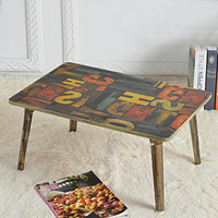DHL Shipping Portable Lapdesks Folding Laptop Table Stand Desk Adjustable Picnic Bed Sofa Tray Notebook Computer