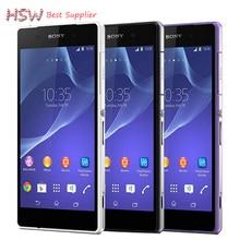 "2016 Venta Caliente Original Smartphone Sony Xperia Z2 Quad core 5.2 ""impermeable Cámara 20.7MP 3 GB RAM 16 GB ROM Android 4.4 WIFI GPS"