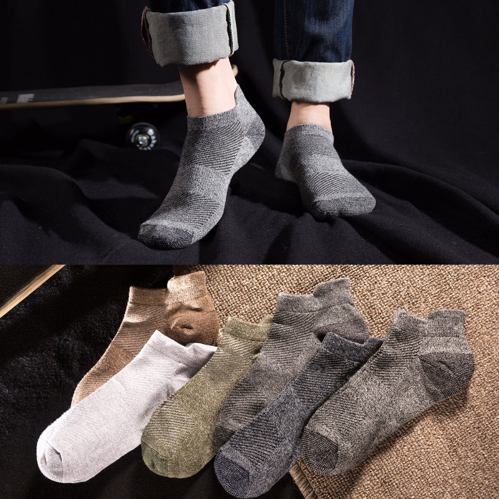 Socks men long A92 spring autumn solid pure cotton socks 4 seasons