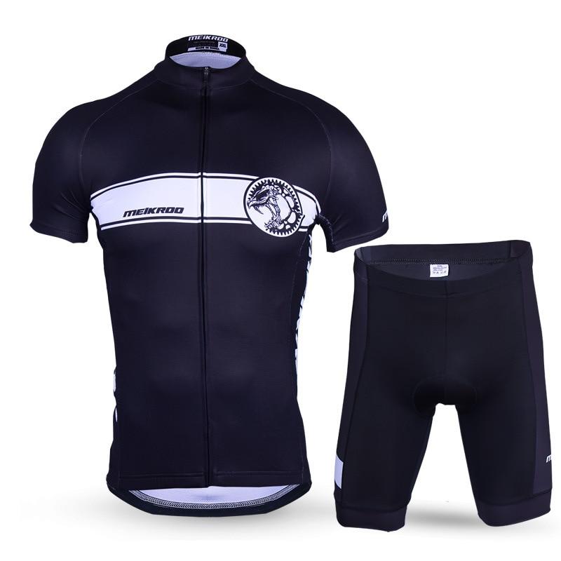 Здесь продается  Pro Team Cycling Set Black Bicycle Motocross Spain Jersey And Pants 2018 Summer Short Sleeve Bycicle Clothes For Man  Спорт и развлечения