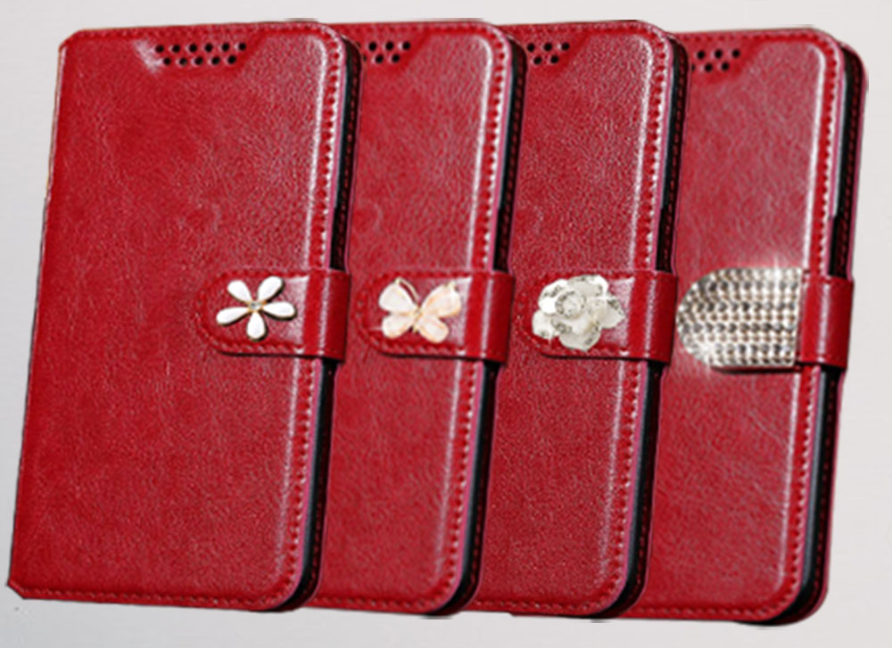 For Vertex Impress U Too Factory Price Luxury Cool Printed Flower 100% Special High Quality Pu Leather Flip Case By Scientific Process