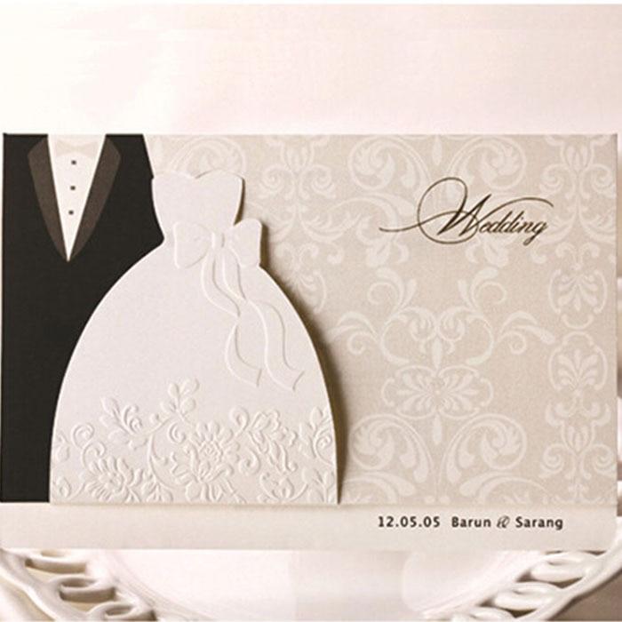 Einladungskarten Hochzeit Elegant U2013 Dressbuying, Einladungs