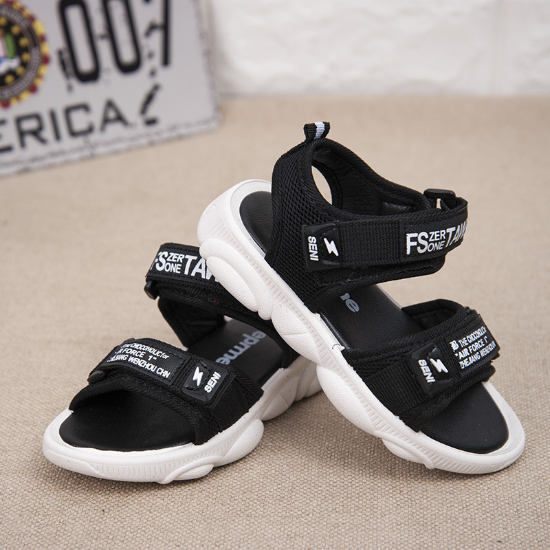 Children's Sandals Men 2019 Summer New Children's Shoes Big Children's Shoes Baby Non Slip Soft Bottom Boys Beach Shoes
