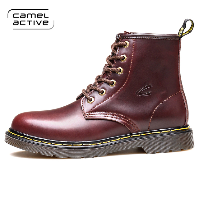 the best attitude eafd3 c926a US $81.0 |Camel Active 2018 Brand Hot Newest Keep Warm Men Winter Boots  High Quality Genuine Leather Boots Casual Fahsion Chelsea Boots-in Chelsea  ...