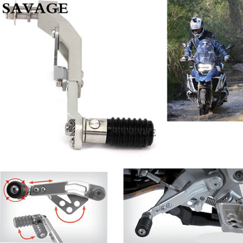 1 Set Motorcycle CNC Adjustable Gear Shift Lever Pedals For B M W R1200GS LC 2013-2016 R1200GS ADV 2014-2016 Aluminium Sliver