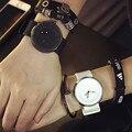 BGG marca Nuevo Diseño moda casual Futurista de lujo hombres mujeres negro blanco reloj de cuarzo de silicona relojes amantes reloj
