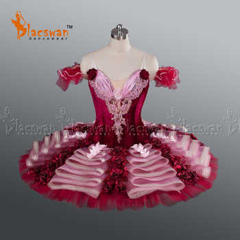 Adult Professional Ballet Tutus BT628 Women Red Velvet Classical Ballet Tutu Costumes Burgundy YAGP Ballet Tutu Stage Costume - DISCOUNT ITEM  5% OFF All Category