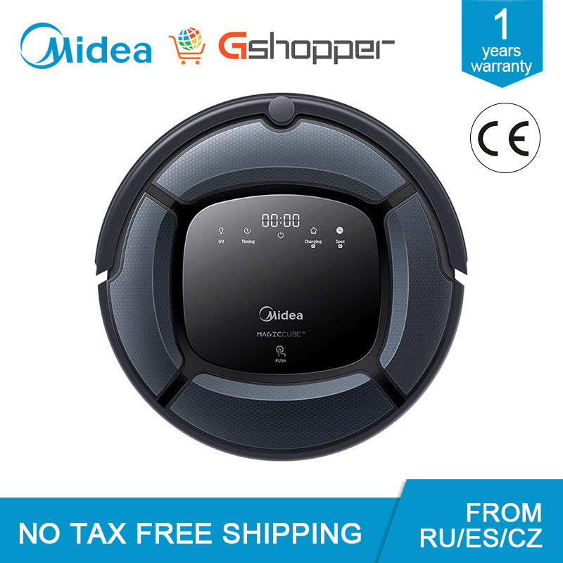 Global Version Midea MR03 MR04 Robot Smart Vacuum Cleaner Large Capacity Vacuum&Mop Map Navigation Powerful Suction Mopping MR04