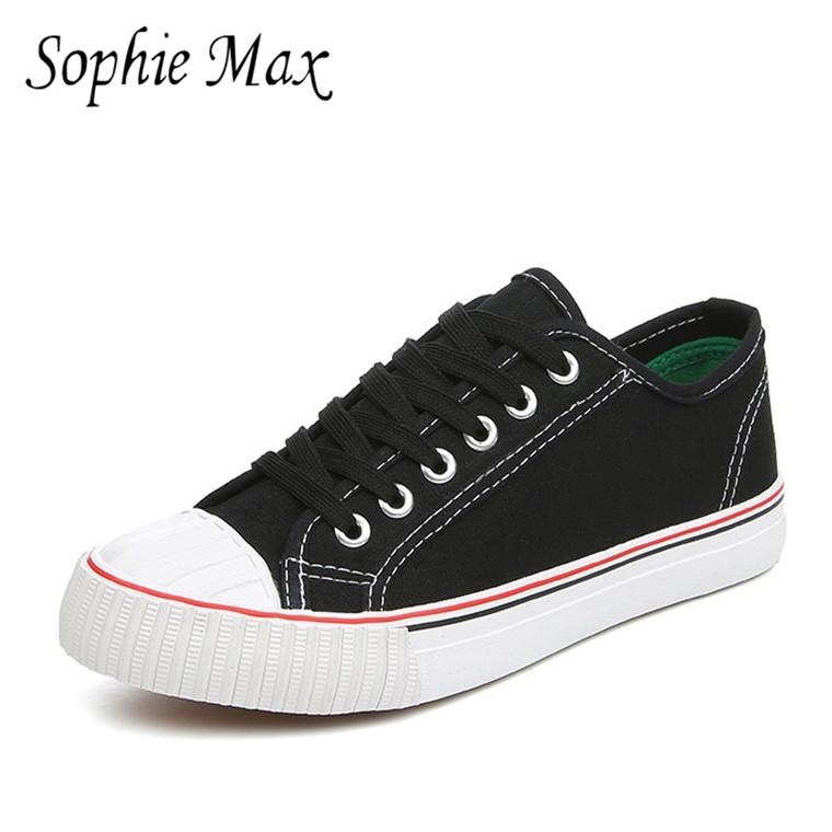 4b6d8d18fce8 2016 musim gugur sophie max baru kedatangan klasik perempuan sepatu kanvas  ringan siswa sepatu 870021