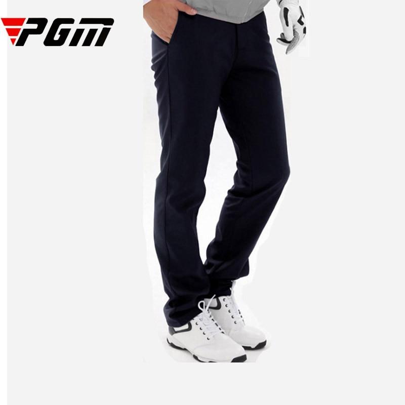 Brand Fleece Golf Pants For Man full length Troursers Warm Breathable Sports soft comfortable good elastic waterproof M L XL XXL