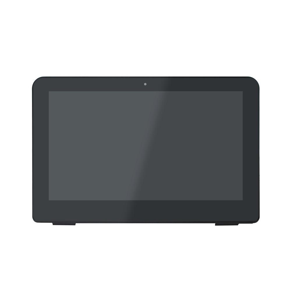 New 11.6 Touchscreen Digitizer Glass Bezel +LCD display Assembly for HP 11-K100NA 11-K026CA 11-k162nr 11-k164nrNew 11.6 Touchscreen Digitizer Glass Bezel +LCD display Assembly for HP 11-K100NA 11-K026CA 11-k162nr 11-k164nr