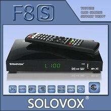 Factory outlet 5 UNIDS SOLOVOX F8S Original Ayuda del Receptor de Satélite 2 WEB USB TV 3G módem Tarjeta CCCAM Compartir/MGCAM/NEWCAM