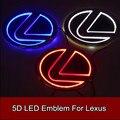 1 шт. Стайлинга Автомобилей 5D Светодиодные Задние Эмблема Автомобиль Логотип Света для Lexus LS270 RX450h CT200h EX250 GS300 ES300 ES240 RX350