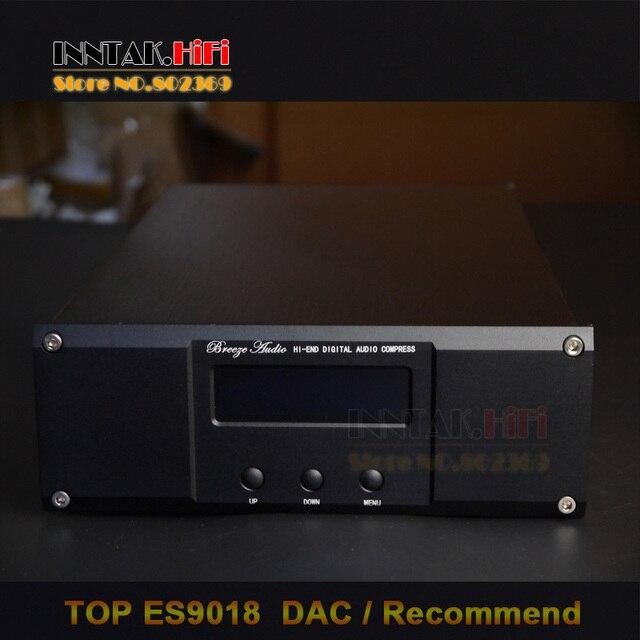 US $188 1 5% OFF Finished HiFi ES9018 +TCXO 0 1PPM 4 Layer DAC decoder W/  XLR balanced output, Support XMOS U8 & Amanero IIS USB 32Bit/384K-in