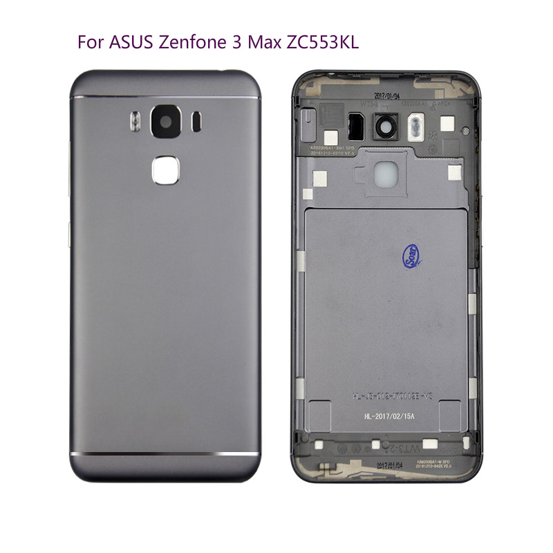 check out cf8ad 1c25e US $10.99 |Original For ASUS Zenfone 3 Max ZC553KL Back Cover Battery Door  Housing Case For ASUS ZC553KL Battery Cover -in Mobile Phone Housings from  ...