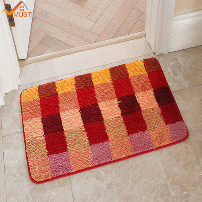 fashion bath rugs Color TPE non-slip bath mats 19.6